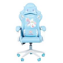 2021 Chair WCG Computer Gaming Chair Reclining Armchair cute cartoon Internet Cafe Gamer Chair Office Furniture adjustable Chair