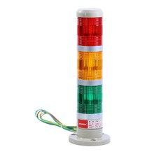 Промышленный подвесной светильник 3-х слойные сигнала башенная лампа устойчивый Предупреждение стек светильник станок с ЧПУ Аварийная сигнализация сигнальная лампа AC220V/10В DC24V/12 V