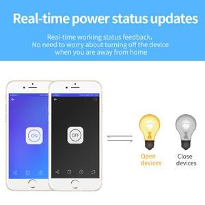 Image 4 - Ewelink mini módulo wifi, timer para interruptor de luz, módulo de controle remoto, funciona com alexa