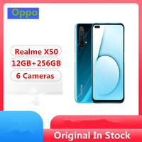 DHL entrega rápida Realme X50 5G teléfono celular Snapdragon 765G Android 10,0 de 6,57