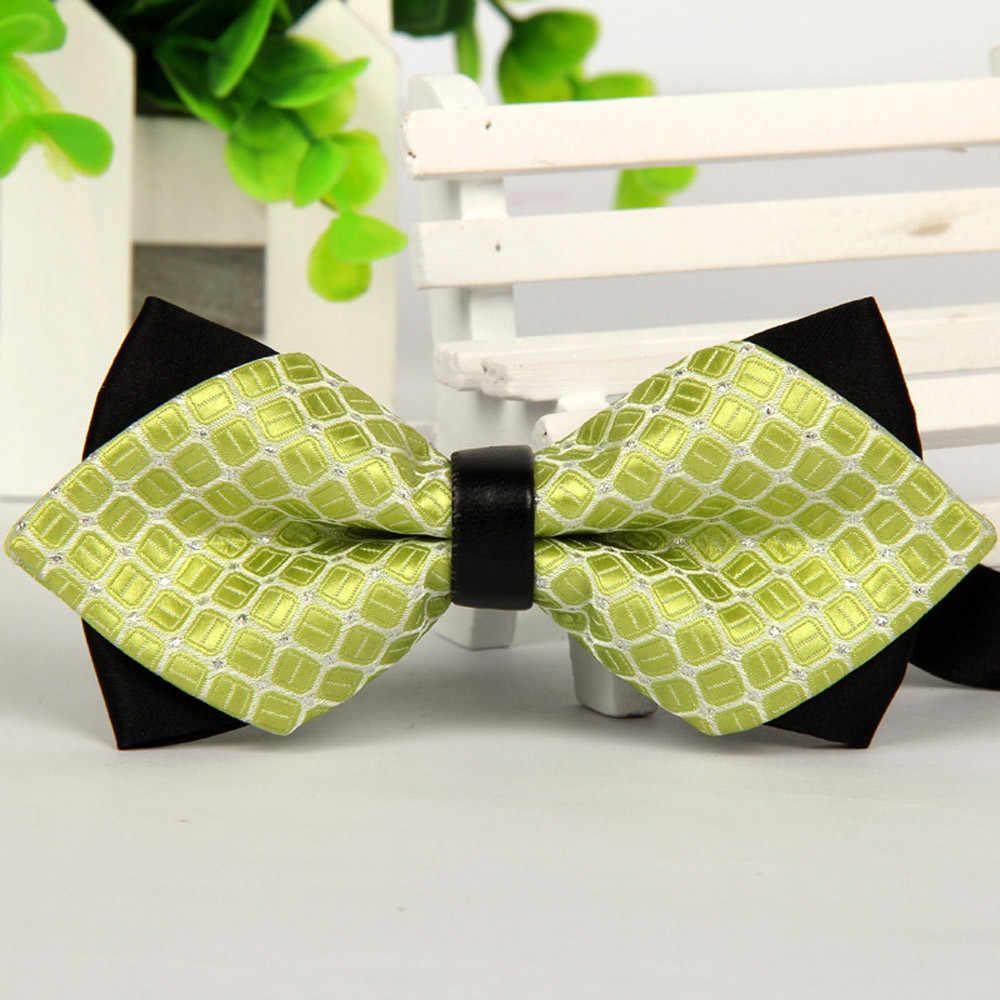 JAYCOSIN cravate mode hommes femmes noeud papillon accessoires affaires homme cravate pour décontracté fête cravate Polyester noeud papillon soie mariage