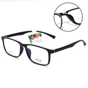 Image 2 - Vazrobe большие очки, оправа для мужчин и женщин 155 мм, широкие стекла, мужские очки по рецепту, выпускные линзы, большие TR90
