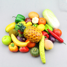 Simulation fruit photography props home cabinet decoration children's toys teaching AIDS foam material