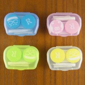 Портативные очки для путешествия, коробка для контактных линз, чехол для контактных линз, набор для ухода за глазами, держатель, контейнер, п...
