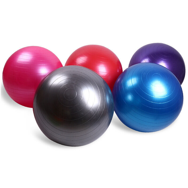 25cm/45cm/55cm/65cm Sports Yoga Balls Bola Pilates Fitness Balance Ball Exercise Workout Massage Ball For Gym