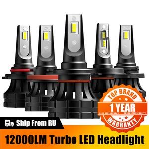 12000LM H4 H7 LED Car Headlight H8 H9 H11 9005 HB3 9006 HB4 9012 HIR2 Led Bulbs For Hyundai I30 I40 Solaris Elantra Sonata Getz