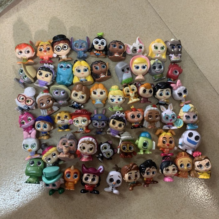 Dolls Tangled Monster Inc Olaf Dooranbles Princess Ariel No 10pcs Stitch No-Repeat Elsa
