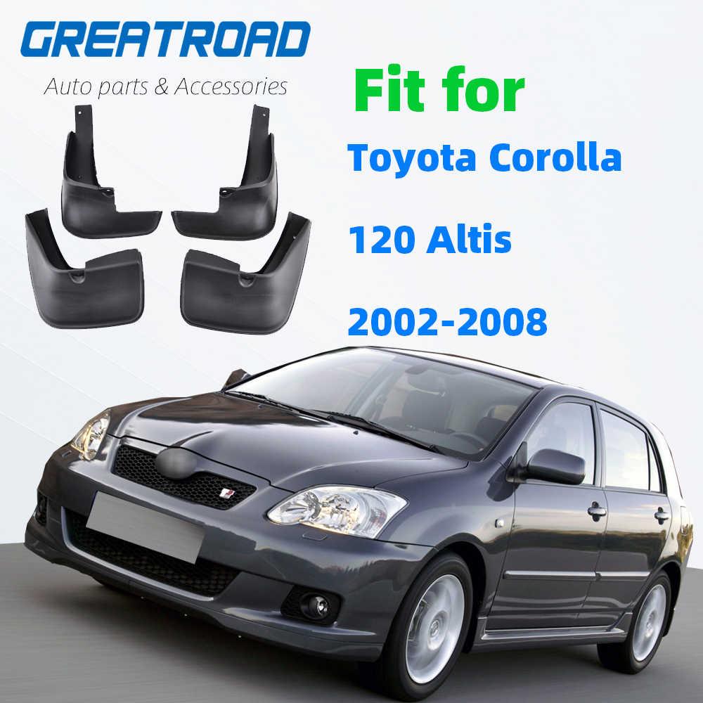Universal mudflaps Delantero Trasero Toyota Carolla Camry AYGO YARIS Mud Flap Guardia Nuevo