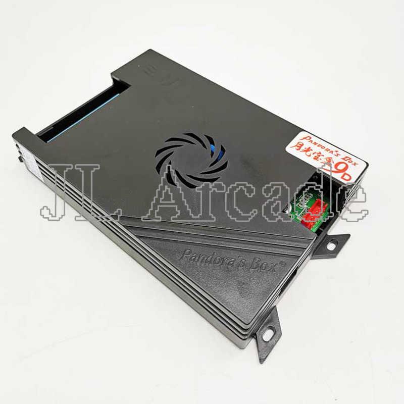 새로운 도착 판도라 9d 2500 1 버전 슈퍼 레트로 아케이드 멀티 게임 상자 DIY 3 p, 4p 게임 TV PC 용 1080P 출력 USB 핸들