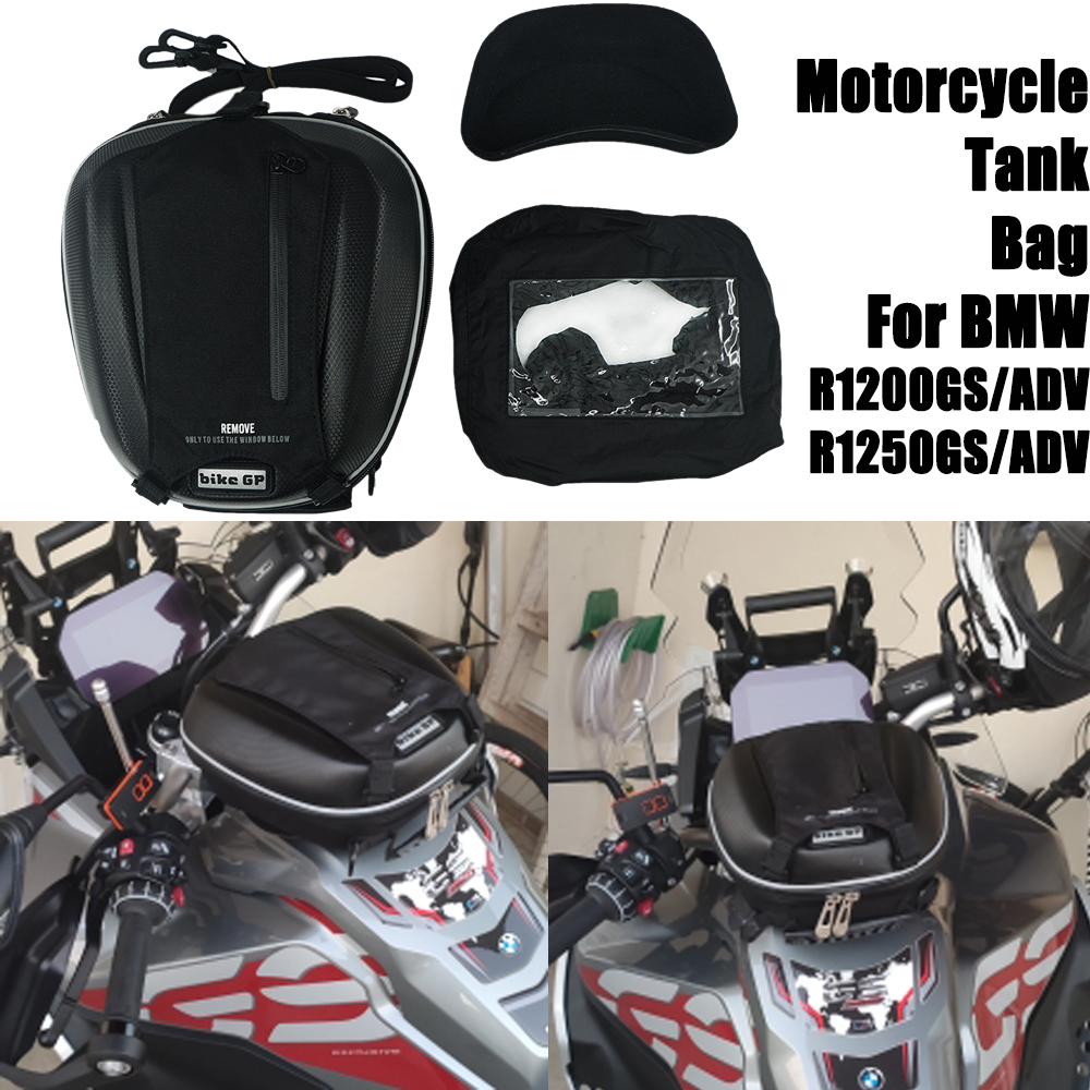 For BMW R1250GS R 1250 GS LC 2018-2020 Motorcycle Tank Oil Fuel Bag Multi-Function Phone Navigation Waterproof Luggage Tool bag