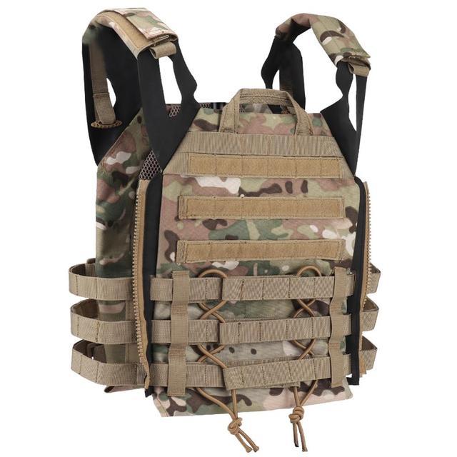 Tactical JPC 2.0 Vest Assault Lightweight Combat Vest Adjustable Vest Military Army Molle Hunting Plate Carrier 5