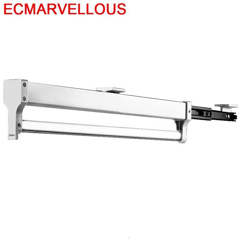 Tendedero Ropa Plegable Repisa Adjustable font b Closet b font Etagere Estanteria Home Hanging Estante Shelves