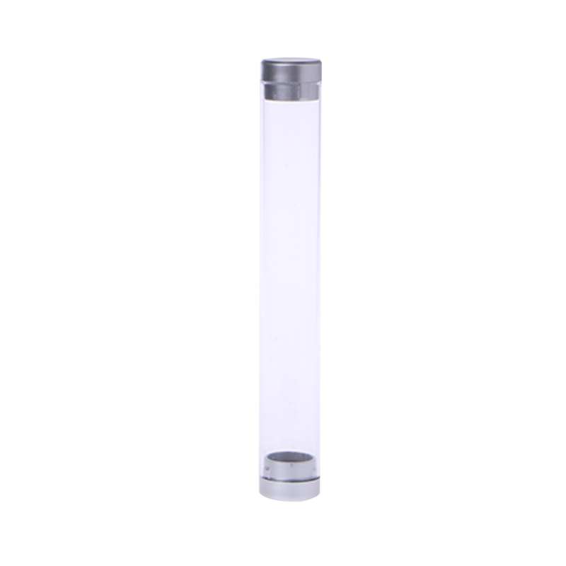 Transparent Cylinder Case Pen Storage Box Stationery Organizer School Office Use M5TB