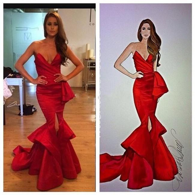 Front Split Tiered Red Mermaid Prom Dresses With Sash Ruched Sweetheart Evening Gowns Maid Of Honor Bride Dress 2020 Vestidos