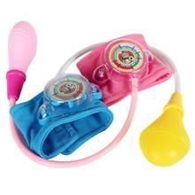 Random Color Play House Toy Medical Doctor Kit Kids Set Home Nurses Blood Pressure Toys