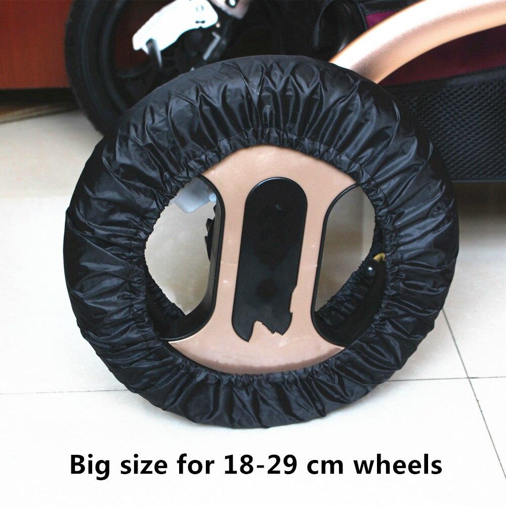 2 шт. аксессуары для детских колясок колеса детские см 12-29 Poussette коляска для чехлов трон