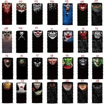 Máscara facial moderna Para motocicleta, mascarilla Para Moto, Cráneo de pasamontañas, bufanda...
