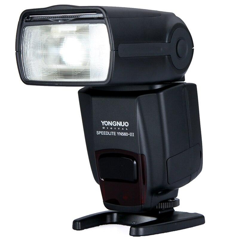 Yongnuo Flash Speedlite Speedlight YN560 III Flash Controller Support RF 602/603 for Canon Nikon Pentax Oympus