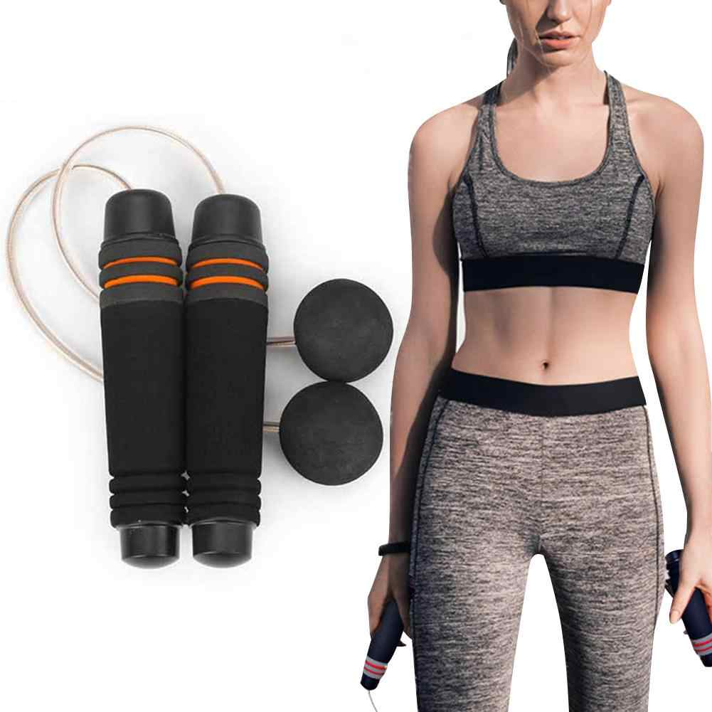 Jump Rope Training Ropeless Skipping Rope Fitness Weighted Cordless Jump Rope