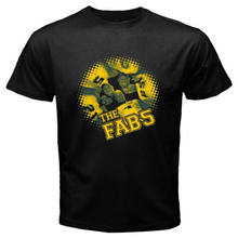 New Michigan Fab Five Basketball Fans Men's Black T-Shirt Size S to 3XL hip hop funny tee, mens tee shirts summer o neck tee(China)
