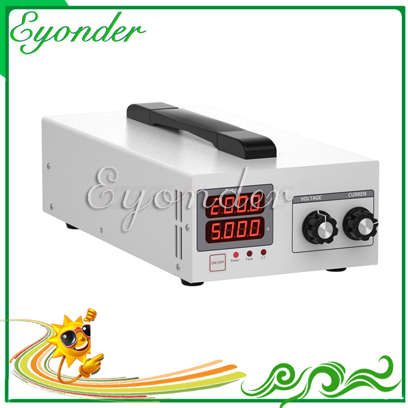 New goods 220vac to 5v 80 amp <font><b>dc</b></font> power supply <font><b>400w</b></font> converter adjustable voltage portable power supply v w tools image