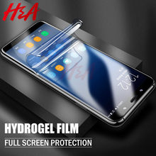 2Pcs Hydrogel soft Film For Samsung Galaxy S10 S9 S8 Plus S10e Lite Screen Protector For Samsung Note 8 9 S7 EDGE Note 10 Film(China)