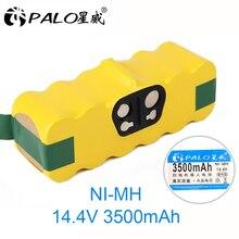цена на PALO 14.4V Ni-MH 3500mAh Battery for iRobot Roomba 500 600 700 800 900 Series Vacuum Cleaner iRobot roomba 600 620 650 700 770