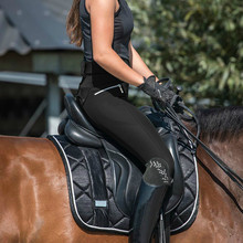 Equestre calças de cintura alta elástico calças de equitação leggings mulheres calças justas calças magras corrida de cavalos escalada pant