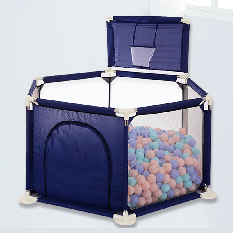 Assembled Baby Fence Playpen For Children Playing In Ball Pool Babe Folding Safety Fence Barrier For 0-6 Years Kids Shoot Ball