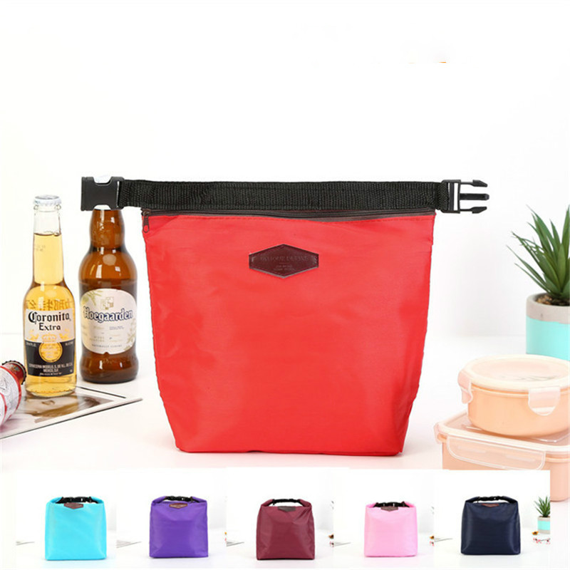 Vogvigo Portable Insulated Lunch Box Pouch Cooler Waterproof Special Thermal Insulation Materia Storage Nylon Food Bag