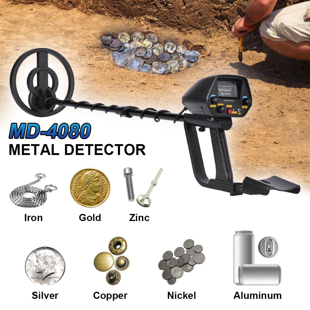 3274.74руб. 43% СКИДКА|Металлоискатель Gold Finder Md 4080 Update MD4030 профессиональный Подземный поисковый Регулируемый точечный охотничий трекер|Промышленные металлодетекторы| |  - AliExpress