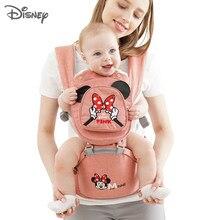 Disney portador de bebê ergonômico da criança mochila assento do quadril para o bebê recém-nascido mochilas cangurus respirável frente enfrentando portadores