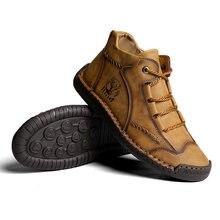 Новинка 2021 модная мягкая кожаная мужская обувь ручной работы
