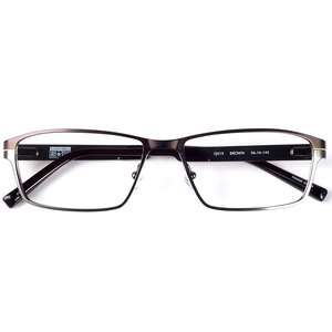 Image 1 - Men stainless steel metal spectacles sports style spring hinge