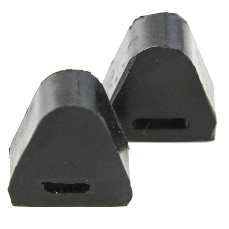 2Pcs RH or LH Tailgate Latch Rubber Stop Bumper Fit for Chevrolet Silverado GMC Sierra