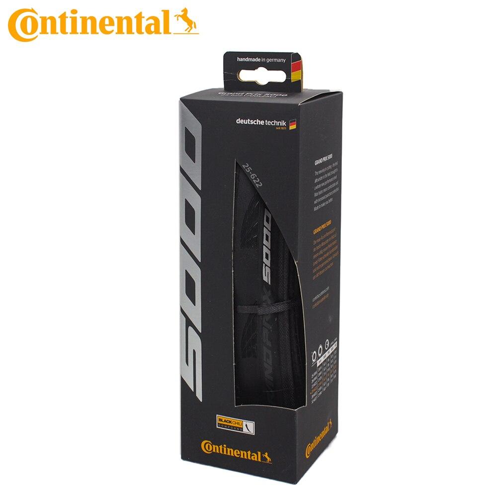 Continental grand prix gp 5000 700x23/25/28c bicicleta de estrada clincher dobrável pneu/caixa