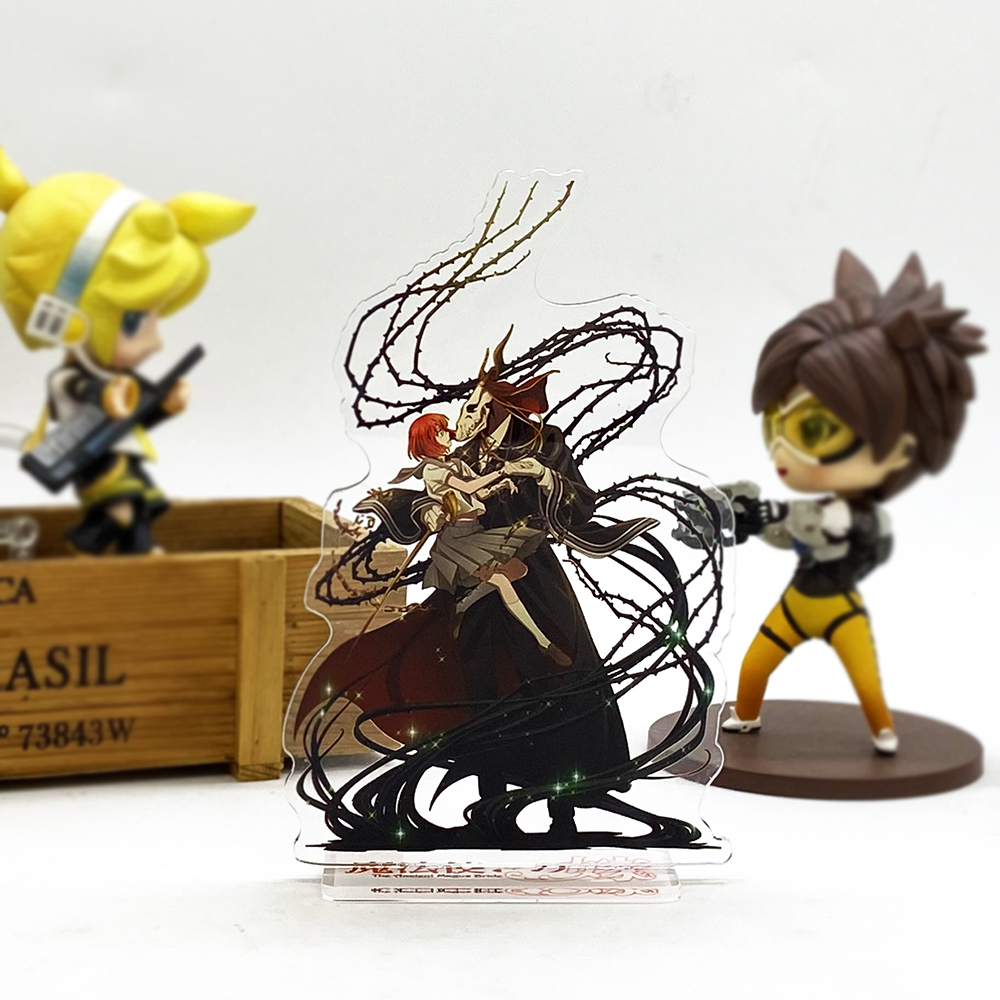 Mahoutsukai No Yome Chise Hatori Elias Ainsworth HM Acrylic Stand Figure Model Plate Holder Cake Topper Game Japanese