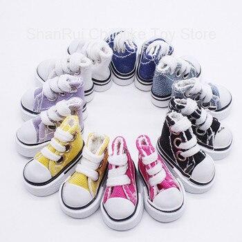 Hot Sale BJD Doll Accessories Shoes 3.5CM/5CM Canvas Fashion Mini Toy