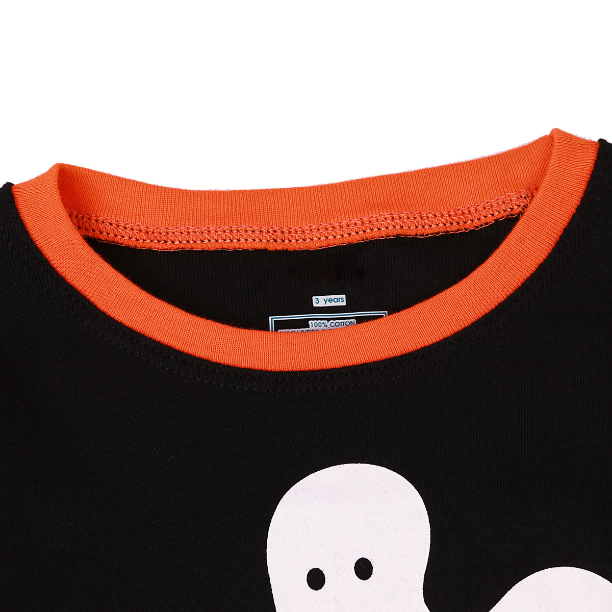 Halloween Pajamas for Kids Boy Christmas Sleepwear Set Children Xmas Pumpkin Mummy Skeleton Toddler Ghost Skull Winter Nightwear