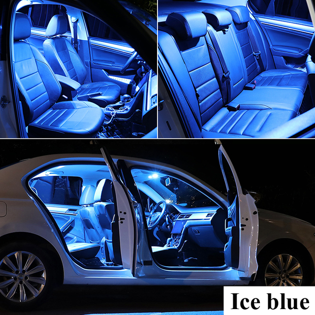 Zoomsee Interior LED For Chrysler 200 2011-2017 Canbus Vehicle Bulb Indoor Dome Map Reading Trunk Light Error Free Auto Lamp Kit 5