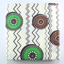 6 ярдов/комплект Фэнтези горошек напечатанная ткань Африканский высокое качество голландский воск ткань хлопок DIY ткани