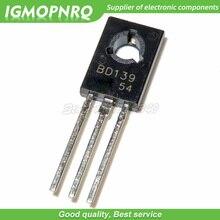 50pcs BD139 D139 TO-126 NPN 1.5A 80V  NPN Epitaxial  Triode Transistor new original