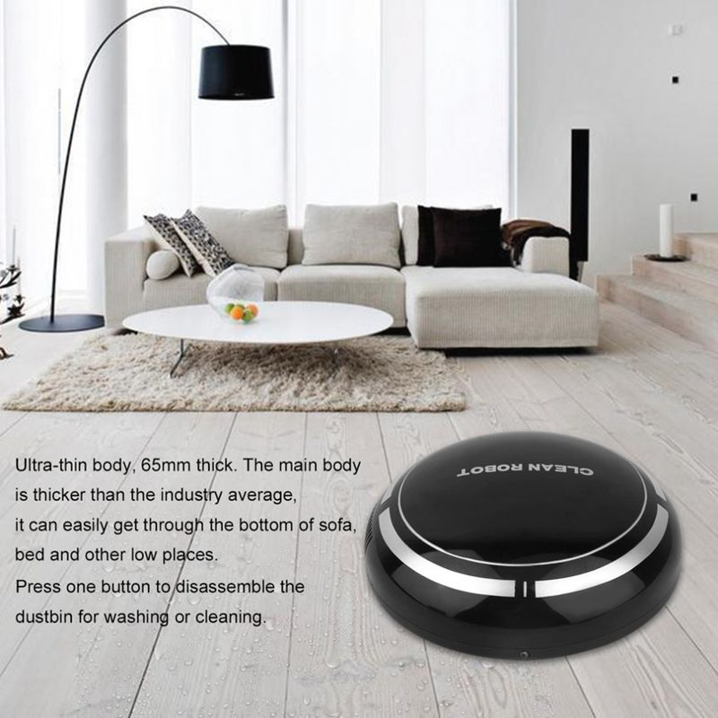 H9680bb7fa03941a5b68f2d3ca0647d13c Smart Automatic Robot Vacuum Cleaning Machine Intelligent Floor Sweeping Dust Catcher Carpet Cleaner For Home Automatic Cleaning