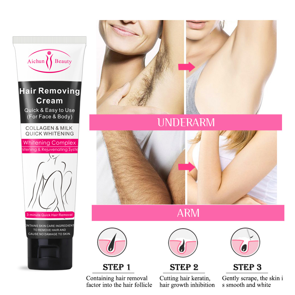 Disaar Painless Hair Removal Cream Body Private Parts Armpit Hands