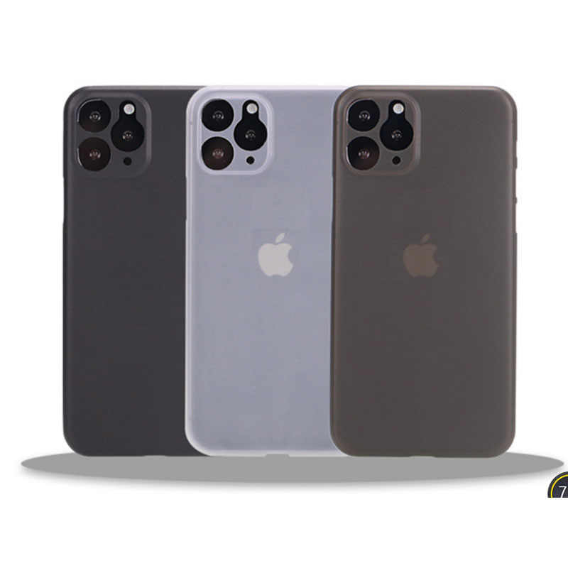 0.3mm Ultra Thin frosted Case Voor iphone 11 Pro MAX X Xr Xs Max Matte Plastic Cover Case Voor iphone 11 Pro Max Fashion Case
