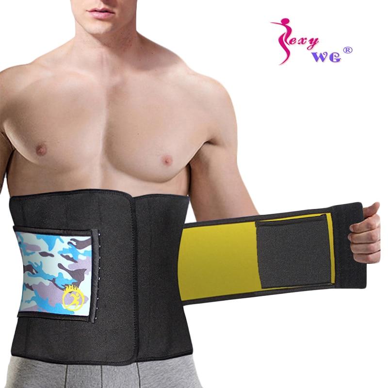 Slimming Neoprene Belt Waist back abdomen Support for Work Sport with zip fasten