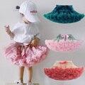 Bbay/юбка-пачка для девочек; балетная юбка-американка; мягкие пушистые детские юбки из нейлона; фатиновые юбки-пачки принцессы для дня рождени...