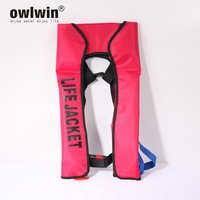 Colete salva-vidas inflável manual das mulheres/homem salva-vidas coletes de natação colete salva-vidas automático colete salva vidas