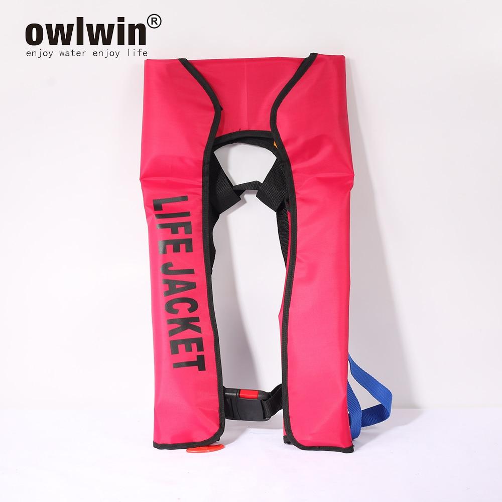 Manual Inflatable Life Vest Women/man Life Jacket Lifejackets Swimming Lifevests Life Jacket Automatic Colete Salva Vidas