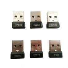 ตัวรับสัญญาณ USB Dongle ไร้สายอะแดปเตอร์สำหรับ Logitech G PRO G903 G403 แผ่นอะแดปเตอร์